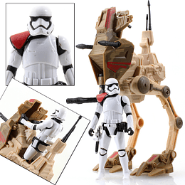 "Desert Assault Walker & Stormtrooper Officer TFA 3,75"""