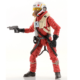 """X-Wing Pilot Asty The Force Awakens The Black Series 6"""""""