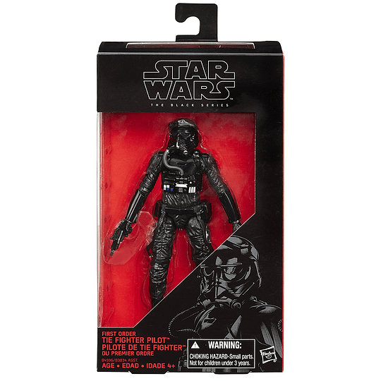 First Order TIE Fighter Pilot TFA The Black Series 6