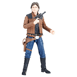 Han Solo W16 The Black Series 6""