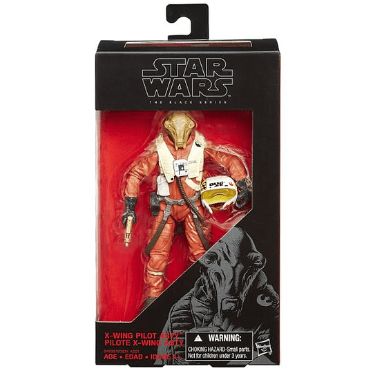 X-Wing Pilot Asty The Force Awakens The Black Series 6