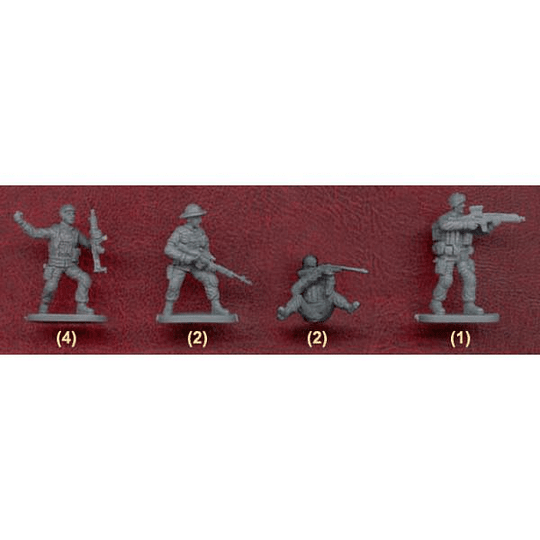 Modern Special Forces Worldwide 061 1:72