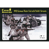 WWII German Winter Unit With Pak36 / Servants H097 1:72