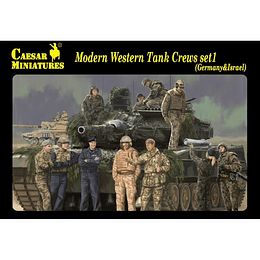 Modern Western Tank Crews Set1 (Germany & Israel) H102 1:72