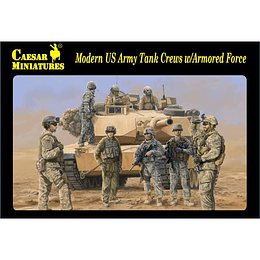 Modern US Tank Crews With Armored Force H103 1:72