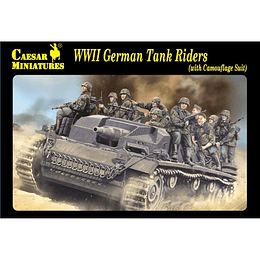WWII German Tank Riders (Camouflage Suit) H099 1:72