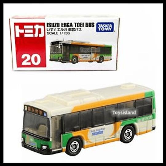 Isuzu Erga Toei Bus #20 1:136 Tomica