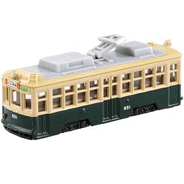 Hiroshima Electric Railway Type 650 #66 1:162 Tomica