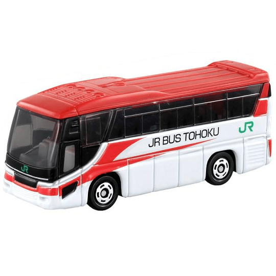 Hino S'Lega JR Bus Tohoku Komachi Color #72 1:156 Tomica