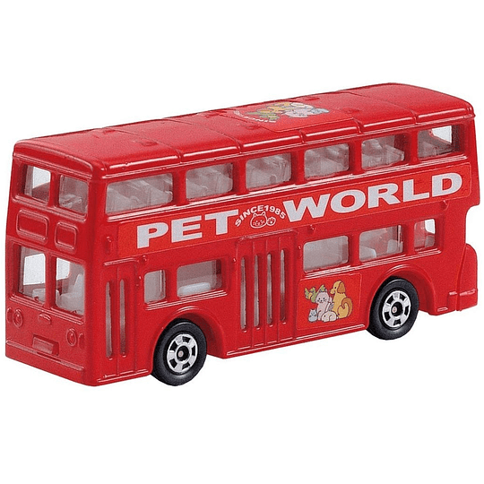 London Bus #95 1:130 Tomica