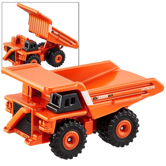 Hitachi Ridig Dump Truck EH3500AC II #102 1:185 Tomica