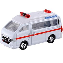 Nissan NV350 Caravan Ambulance #18 1:69 Tomica