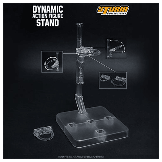 Dynamic Action Figure Stand