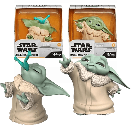 The Child Frog And Force Star Wars Baby Bounties