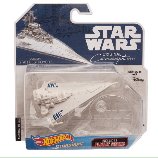 Star Destroyer Original Concept Series Hot Wheels Star Wars