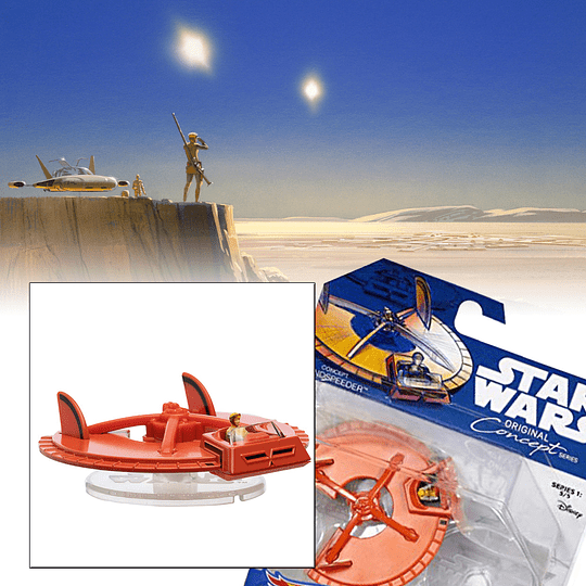 Landspeeder Original Concept Series Hot Wheels Star Wars