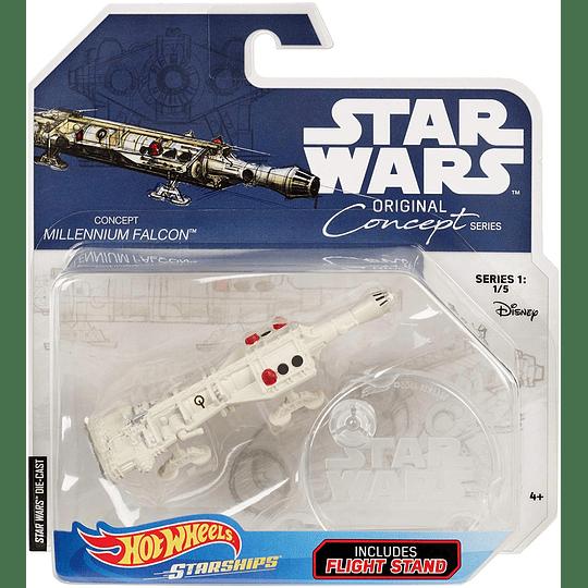 Millennium Falcon Original Concept Series Hot Wheels Star Wars