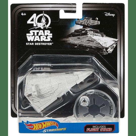 Star Destroyer 40th Anniversary Hot Wheels Star Wars