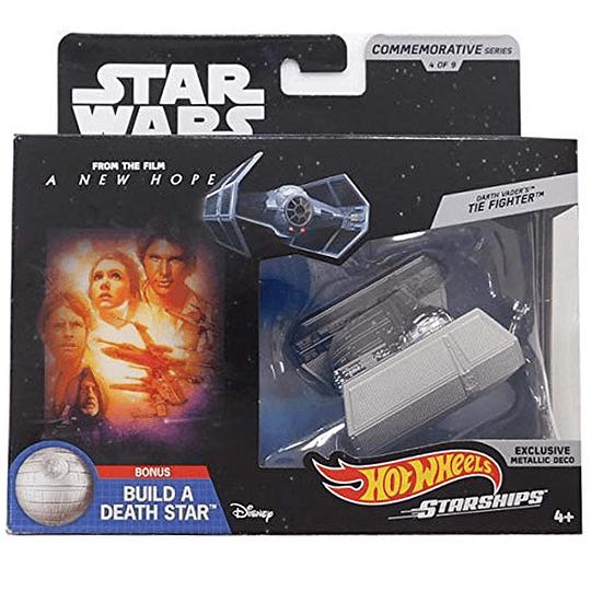 Darth Vader's TIE Fighter Commemorative Series Hot Wheels Star Wars
