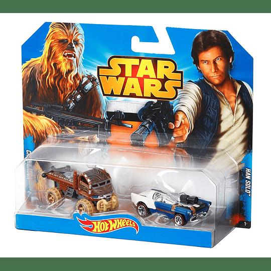 Han Solo & Chewbacca 2-Pack Hot Wheels Star Wars