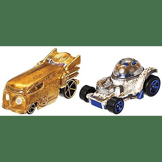 R2-D2 & C-3PO 2-Pack Hot Wheels Star Wars