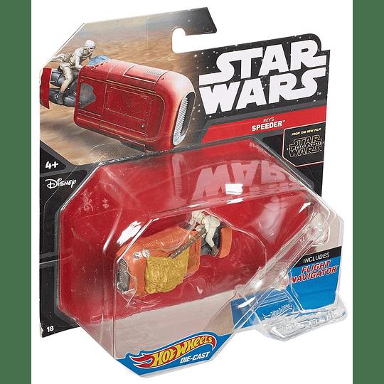 Rey's Speeder Hot Wheels Star Wars