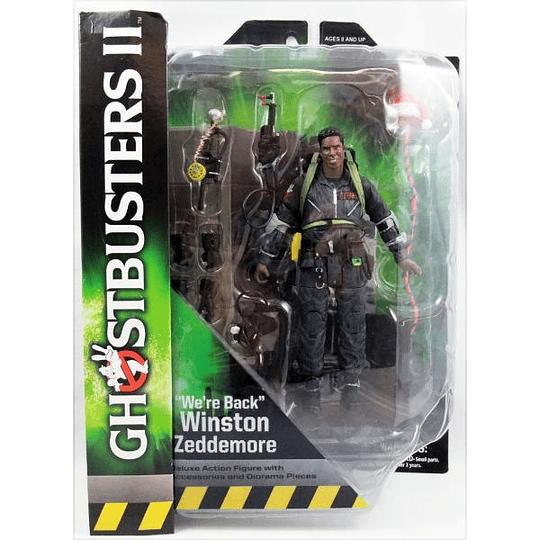 Winston Zeddemore Ghostbusters 2 Series 8