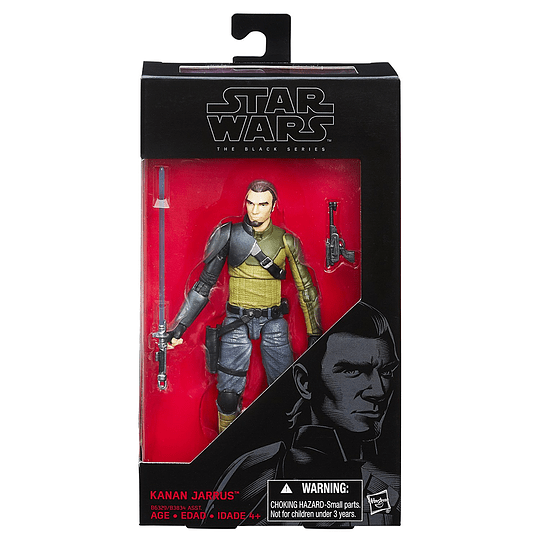 Kanan Jarrus Rebels The Black Series 6