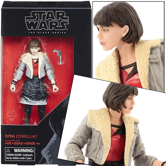 Qi'Ra Solo Movie The Black Series 6