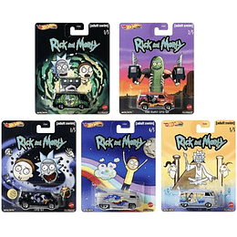 Set Completo Hot Wheels Pop Culture Rick & Morty