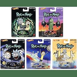 Set Completo Hot Wheels Pop Culture Rick & Morty
