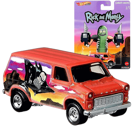 Super Van Rick & Morty Hot Wheels Pop Culture 2020