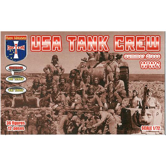 WWII USA Tank Crew Summer Dress #72049 1:72