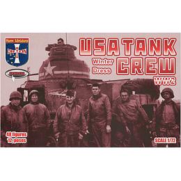 WWII USA Tank Crew Winter Dress #72050 1:72