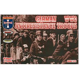 German Anti-Resistance Troops #72054 1:72