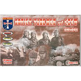 Soviet Tankmen And Crew #72046 1:72