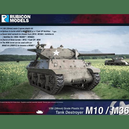 M10 / M36 Tank Destroyer 28mm 1:56
