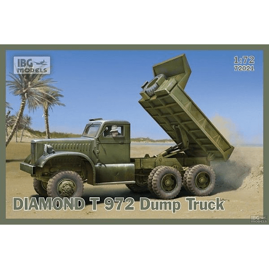 Diamond T 972 Dump Truck Set 72021 1:72