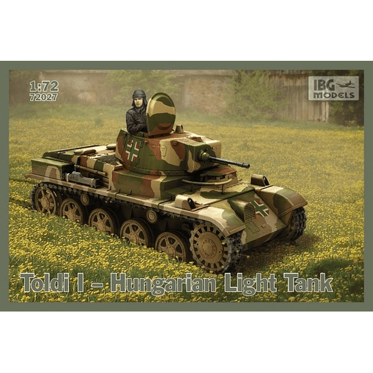 Toldi I Hungarian Light Tank Set 72027 1:72