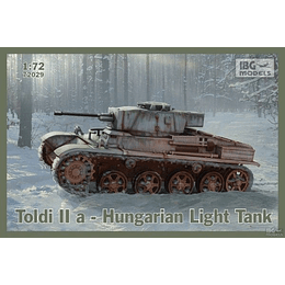 Toldi IIa Hungarian Light Tank Set 72029 1:72