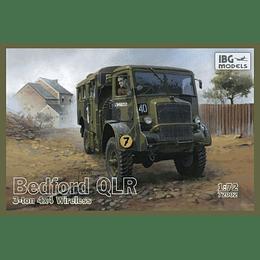 Bedford QLR 3 Ton 4x4 Wireless Set 72002 1:72