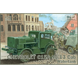 Chevrolet C.15A No.13 Cab Watertank Set 72012 1:72