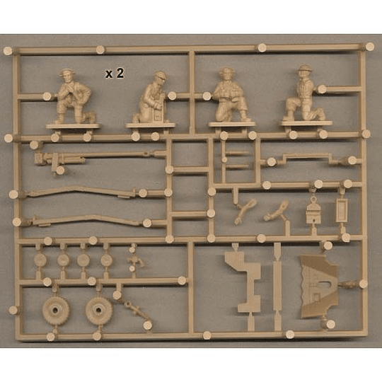 British Anti-Tank Gun And Crew 1:72