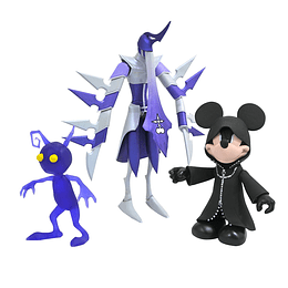 Hooded Mickey, Assassin & Purple Shadow Kingdom Hearts Space Paranoids