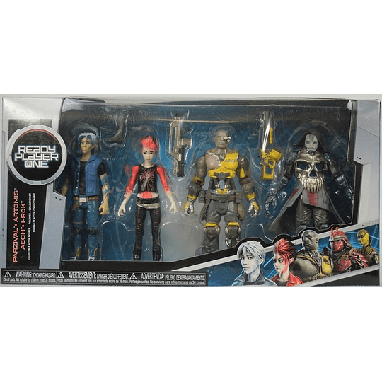 Ready Player One Action Figure 4-Pack