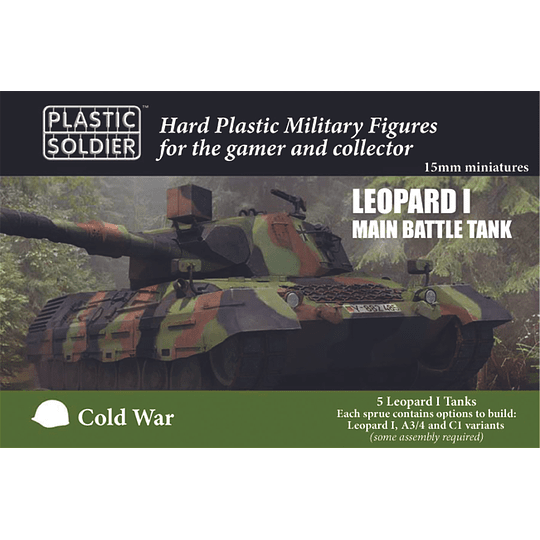 Leopard I Main Battle Tank 15mm