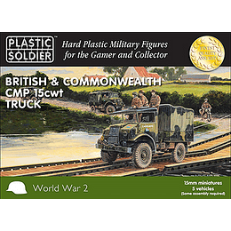 British CMP 15cwt Truck 15mm
