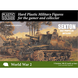 British Sexton Self Propelled Artillery 15mm