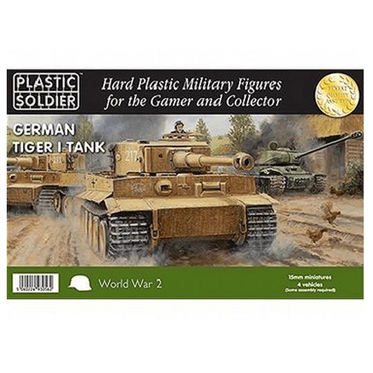 German Tiger I Tank 15mm