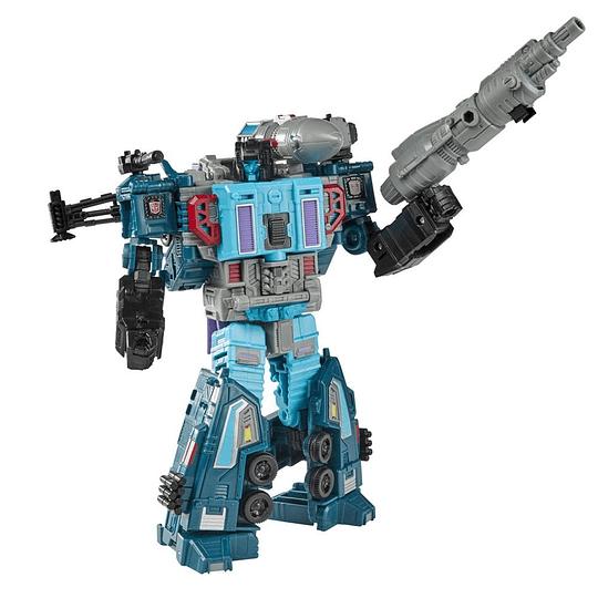 Doubledealer Leader Class Earthrise WFC Transformers